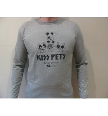 Camiseta KISS PET manga larga