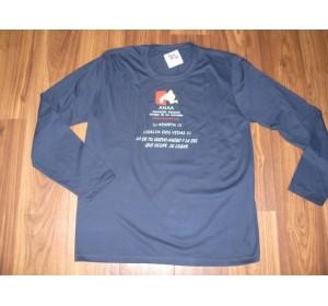 Camiseta Chico Manga Larga Azul ADOPTA!