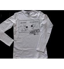 Camiseta Chica Manga Larga Auténtico 100%